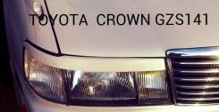 Накладка на фару. Toyota Crown, GZS141. Под заказ
