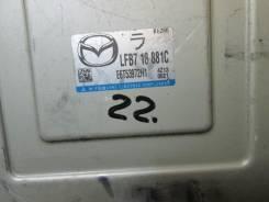Блок управления двс. Mazda Premacy, CR3W, CREW, CPEW Двигатели: FSZE, LFDE, LFVD, LFVDS, LFVE