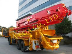 Jun Jin. Автобетононасос JUN JIN JXZ37-4.16HP (37 м,4 секций) Hyundai HD260 E-2, 9 800куб. см., 37,00м.