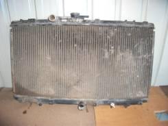 Радиатор охлаждения двигателя. Toyota Starlet, EP95 Двигатель 4EFE