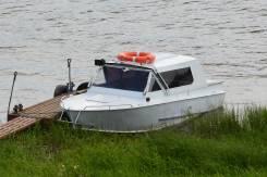 Водомётный катер. 2012 год, двигатель стационарный, бензин