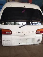 Дверь багажника. Mitsubishi Delica, PE8W