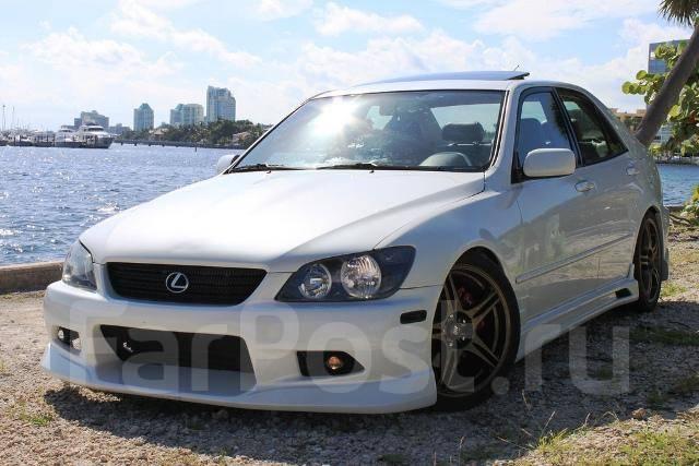 Обвес кузова аэродинамический. Lexus IS300 Toyota Altezza, SXE10. Под заказ