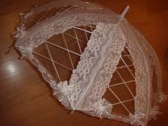 Свадебные зонтики для дождика и не только