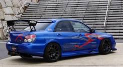 Диффузор. Subaru Impreza WRX STI, GDB