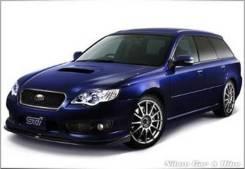Накладка на бампер. Subaru Legacy, BL, BL5, BP, BP5
