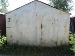 """Метал. гараж в кооп. """"Аист"""". комсомольский 47-72, р-н ленинский, 21 кв.м."""
