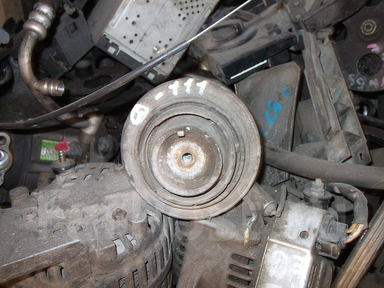 Замена опорных подушек двигателя мерседес w202 дизель