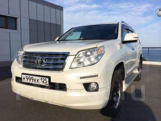 Губа. Toyota Land Cruiser Prado