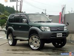 Подкрылок. Toyota Land Cruiser Prado, 95