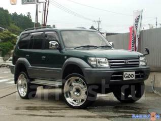 Подкрылок. Toyota Land Cruiser Prado, KZ71G, KZ71W, KZJ71W, KZJ78G, KZJ78W Двигатель 1KZTE