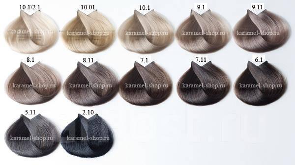 Краска для волос тон 6.1 фото