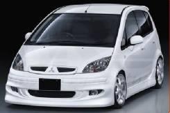 Обвес кузова аэродинамический. Mitsubishi Colt