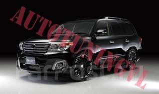 Обвес кузова аэродинамический. Toyota Land Cruiser, J200, VDJ200, URJ202W, URJ202 Двигатели: 3URFE, 1VDFTV, 1URFE