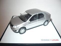 Модель-копия Рено Логан в масштабе 1/43. Renault Logan