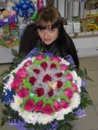 Продавец-флорист. Среднее образование, опыт работы 10 лет