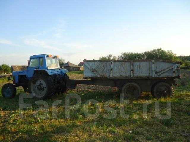 Продам мтз 82 с куном - МТЗ 82, 1989 - Тракторы и.
