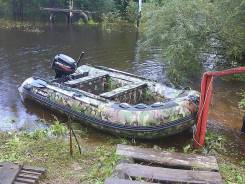 Лодка ПВХ Амур 365 + мотор Меркурий 15. Год: 2011 год, длина 365,00м., двигатель подвесной, 15,00л.с., бензин