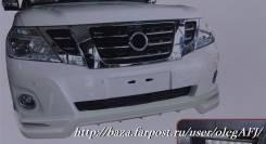 Бампер. Nissan Patrol, Y62