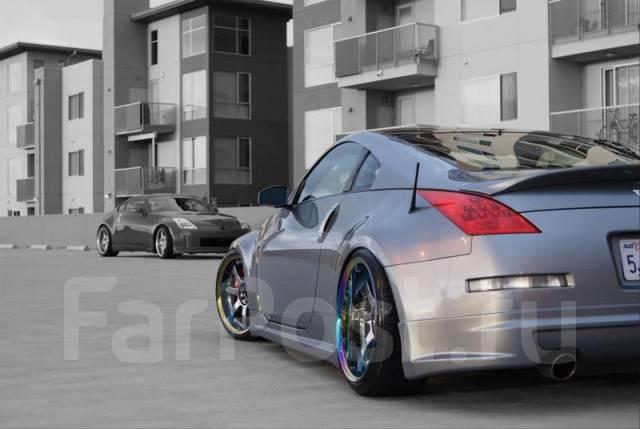 Накладка на бампер. Nissan 350Z