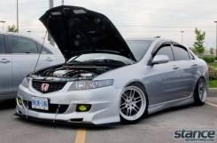 Обвес кузова аэродинамический. Honda Accord, CL9