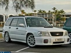 Обвес кузова аэродинамический. Subaru Forester, SF5, SF9, SF