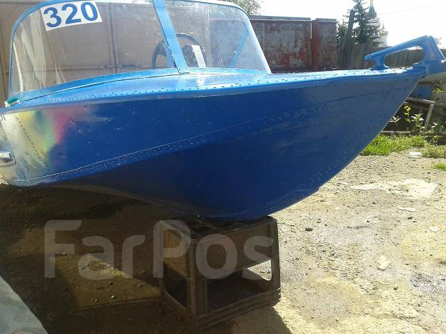 длина моторной лодки обь 3