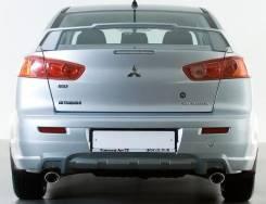 Накладка на бампер. Mitsubishi Lancer, CY, CY1A, CY3A Двигатели: 4B10, 4B11, 4A91, 4A92. Под заказ