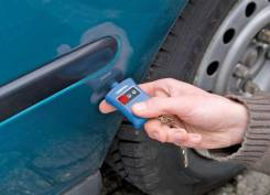 Тестер лкп кузова - детектор битых авто, Англия,3х диодный брелок