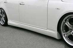 Порог пластиковый. Toyota Mark X, GRX120. Под заказ