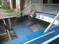 Лодка. 2008 год, двигатель подвесной, бензин