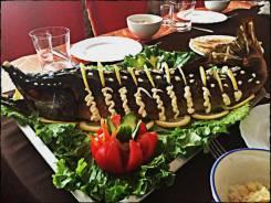 Накрой стол без забот! Доставка блюд бесплатно! Вкусно! Проверено!