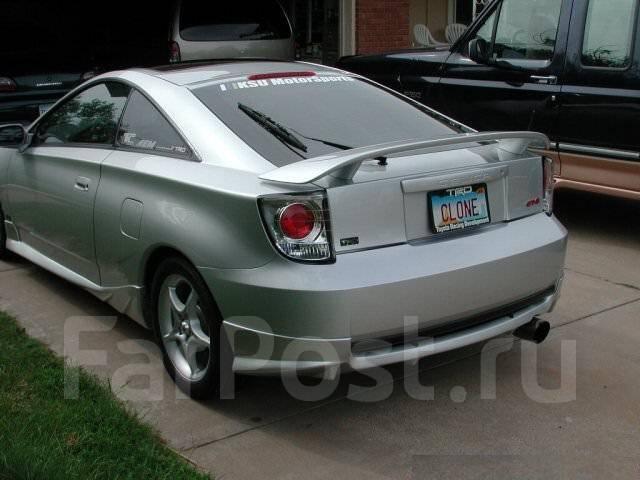 Накладка на бампер. Toyota Celica