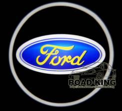 Лазерная проекция логотипа под двери авто Ford № 020. Ford Laser