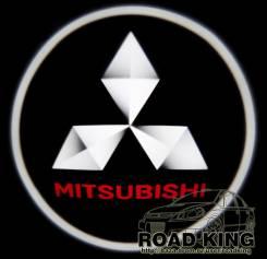 Лазерная проекция логотипа под двери авто Mitsubishi № 171. Mitsubishi: Lancer Cedia, Delica Space Gear, Airtrek, Pajero Evolution, Legnum, Lancer, De...