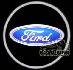 Лазерная проекция логотипа под двери авто Ford № 019. Ford Laser