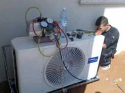 Установка кондиционеров, ремонт, чистка, заправка (недорого)