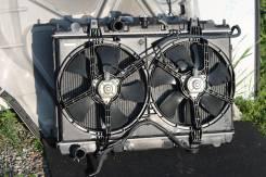 Радиатор охлаждения двигателя. Nissan Avenir, PNW11, RW11, RNW11, PW11 Двигатели: SR20DET, QR20DE, SR20DE