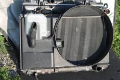 Радиатор охлаждения двигателя. Toyota Mark II, 110 Двигатели: 1JZFSE, 1JZGE, 1JZGTE, 1JZ