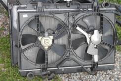 Радиатор охлаждения двигателя. Nissan Avenir, 11 Двигатель CR20