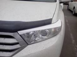 Накладка на фару. Toyota Highlander. Под заказ