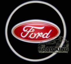 Лазерная проекция логотипа под двери авто Ford № 212. Ford Laser