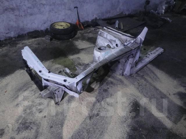 Лонжерон передний левый с аркой телевизором и порогом Curren. Toyota Curren, ST207, ST206, ST208