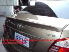 Спойлер. Toyota Belta, SCP92, NCP96, KSP92 Toyota Vios Двигатели: 2SZFE, 2NZFE, 1KRFE