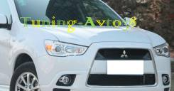 Накладка на фару. Mitsubishi RVR