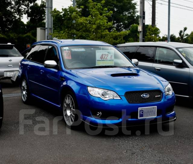 Обвес кузова аэродинамический. Subaru Legacy, BP, BP5
