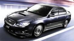 Порог пластиковый. Subaru Legacy, BP5, BP