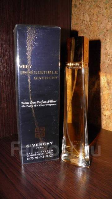 Givenchy Very Irresistible Poesie Dun Parfum Dhiver 75ml