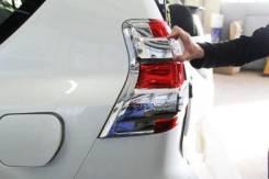 Хром на задние фары прадо 150. Toyota Land Cruiser Prado