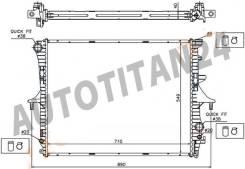 Радиатор AUDI Q7 06-//VW TOUAREG/PORSCHE CAYENNE 02-10